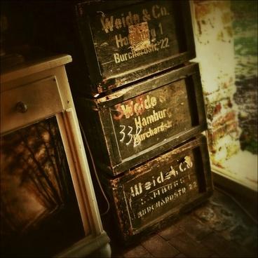 vintage chest antique
