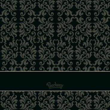 vintage damask wallpaper in victorian style