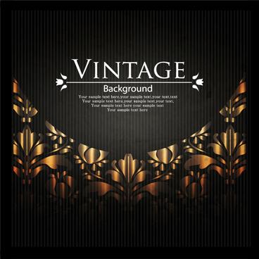 vintage dark backgrounds vector