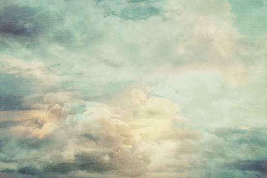 vintage drifting sky