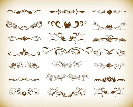 Free vintage design element vectors free vector download (37,560