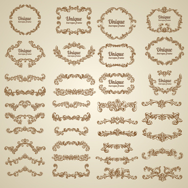 Decorative border vector free vector download (25,102 Free vector ...