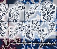 Vintage Floral Ornaments v.1