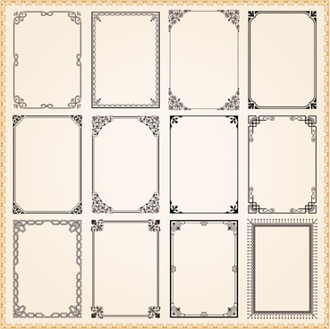 Vintage corner ornament free vector download (17,343 Free vector ...