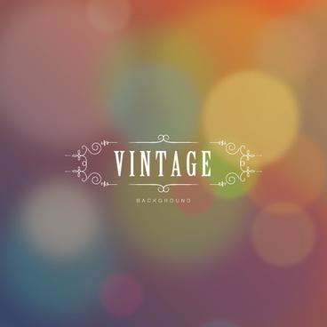 vintage halation background vector