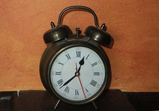 vintage iron alarmclock