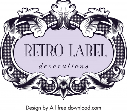 Editable Vintage Label Template Free Vector Download 30 361 Free