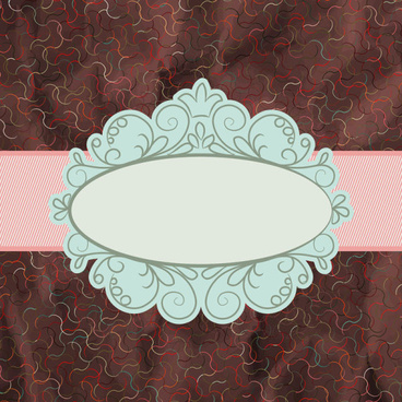 vintage lace frames backgrounds art vector