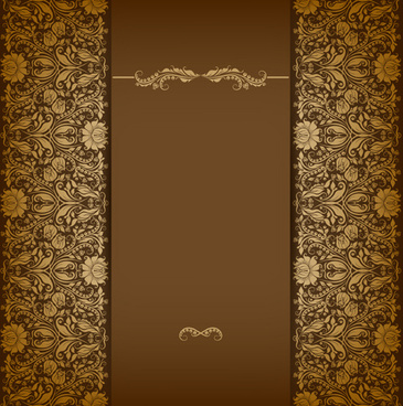 vintage luxury floral background art