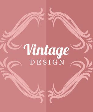 vintage ornamental design