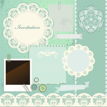 Scrapbook Paper Designs Vintage Free Vector Download 11 919 Free