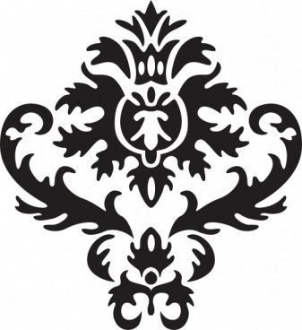 vintage pattern free cdr vectors art