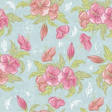 vintage seamless flower background