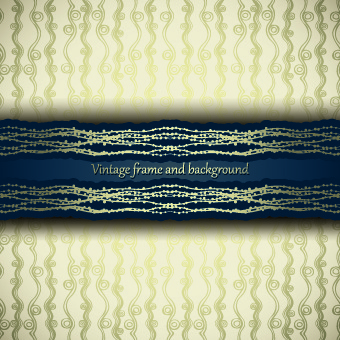 vintage seamless luxury pattern background vector