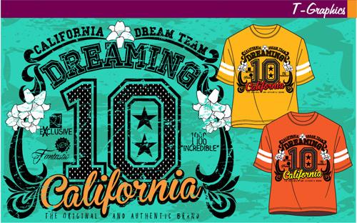 vintage style graphics t shirt design vector