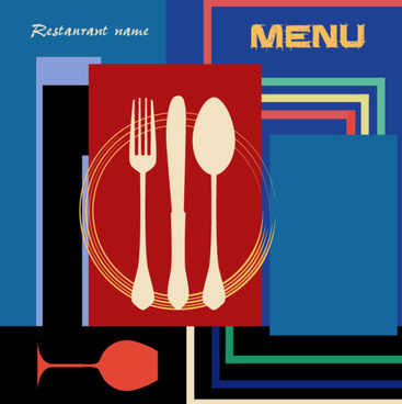 vintage style restaurant menu designs free vector download 20 382