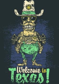 vintage t shirt print vector
