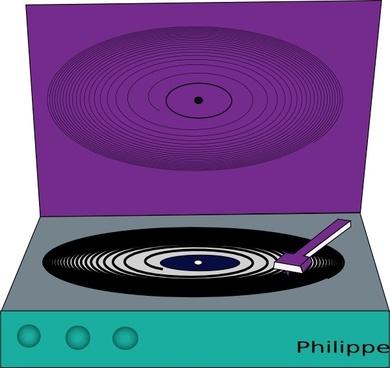 Vinyl Disc clip art