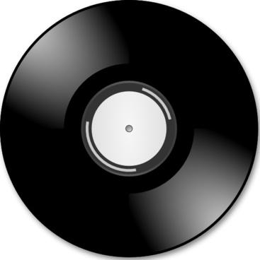 Vinyl Disc Record clip art