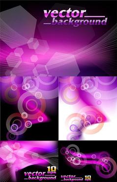 violet background art