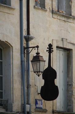 violin luminaire instrument