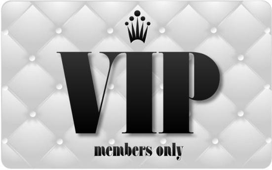 vip card 02 vector