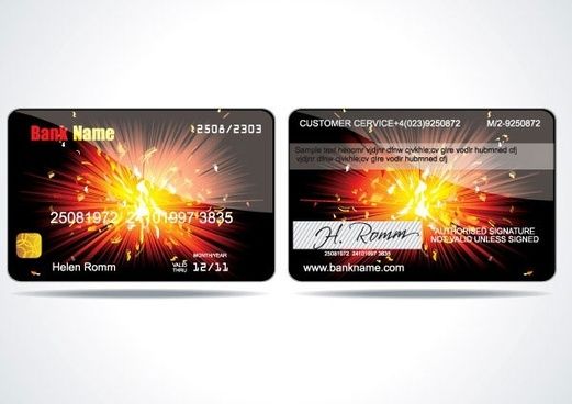 vip card background vector 2