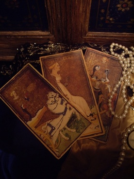 visconti tarot cards