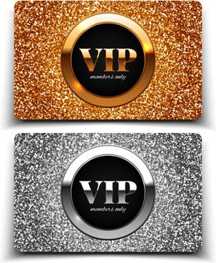 visitant vip cards luxury vector
