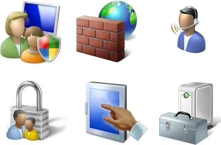 Vista Icons Pack PNG 04 icons pack