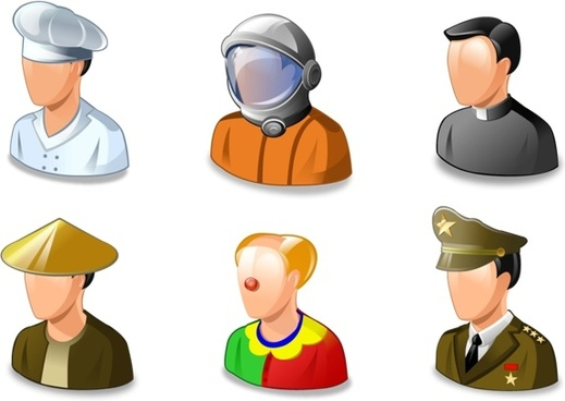 Vista Job icons icons pack