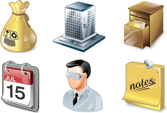 vista project managment icons pack