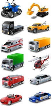 Vista Style Transport Icon Set icons pack