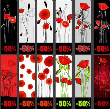 Poppy free vector download 48 free vector for commercial use vivid poppy flower cards vector mightylinksfo
