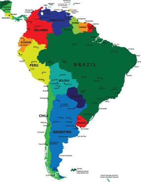 North south america map free vector download (3,228 Free vector) for ...