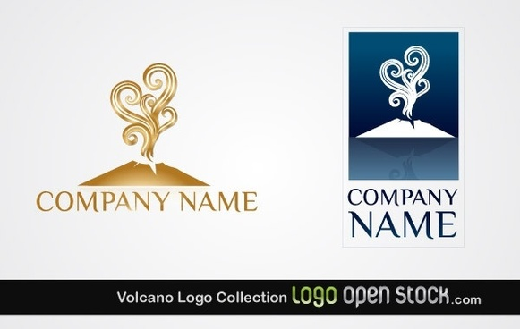 Volcano Logo Collection