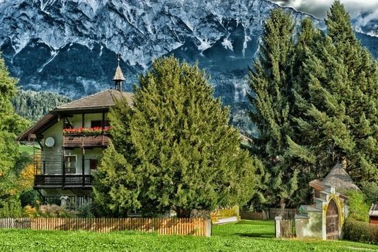 volders austria landscape
