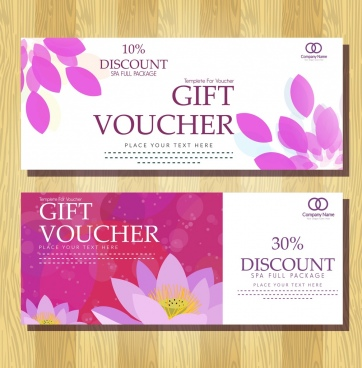 Gift voucher template vector free vector download (16,343 Free ...