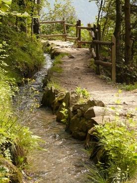 waalwanderweg trail away