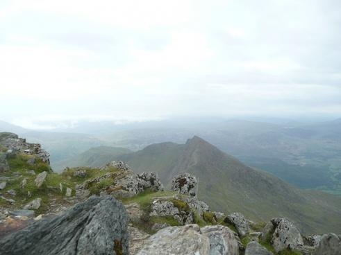 wales snowdon mountain
