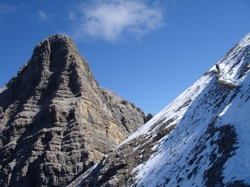 walking hike mountain