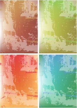 abstract background templates retro grunge decor