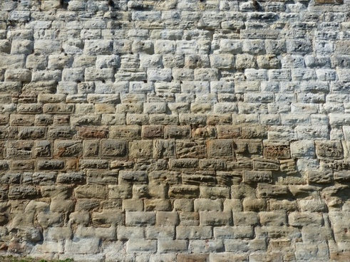 wall stones bricked
