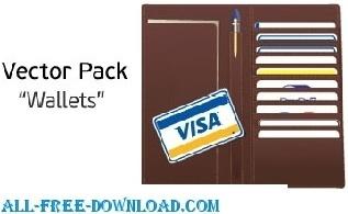 Wallet Credit Card Vector