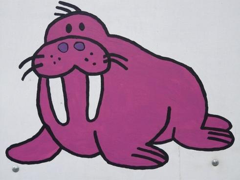 walrus sea lion comic