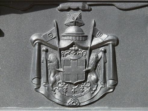 wappen metal emblem