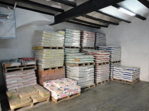 warehouse cement construction