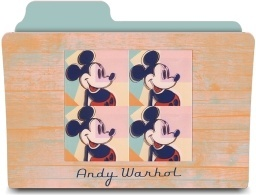 Warhol four mickeys
