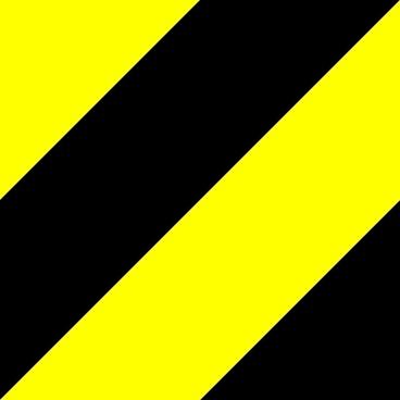 Warning Pattern clip art