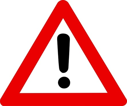 0 3 Warning Symbol Free Vector Download 35228 Free Vector For
